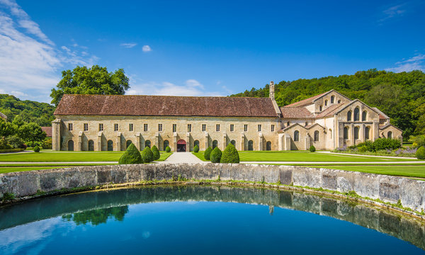 Cistercian Abbey of Fontenay, Burgundy, France