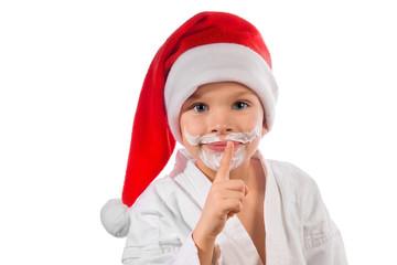 mysterious Santa Claus