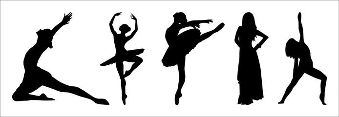silhouette danseuse