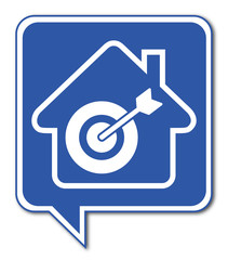 Logo maison et localisation.