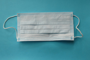 Protective face mask - surgical mask