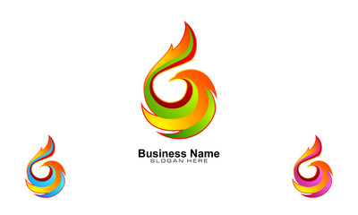 fire, flame, bird, hawk, eagle, phoenix, vector logo design