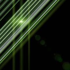 futuristic eco stripe design with lights
