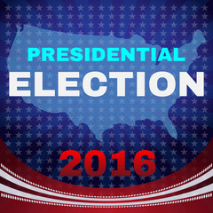 Usa Presidential Election 2016 Banner