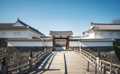山形城二の丸東大手門