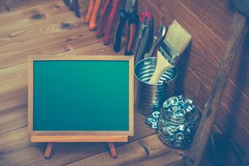 DIY 黒板