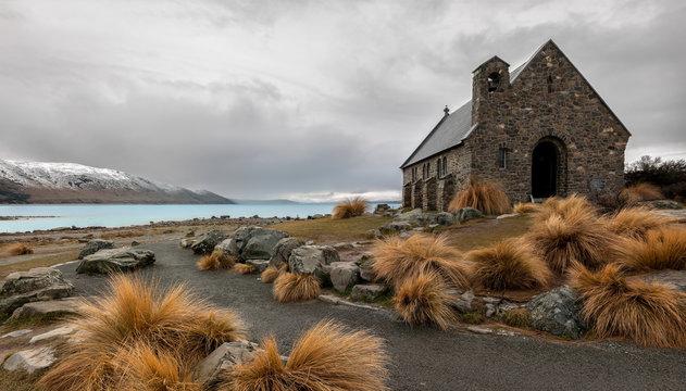 Church of the good shepherd, Lake Tekapo, New Zealand.