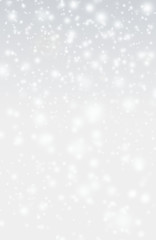 abstact sparkle christmas background with snowflakes and star an