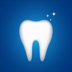 symbol shiny tooth protected