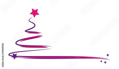 weihnachtsbaum lila pink stockfotos und lizenzfreie. Black Bedroom Furniture Sets. Home Design Ideas