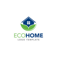 Eco-Home Logo Template