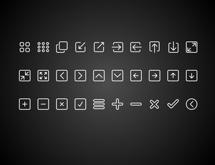 numerik line icon