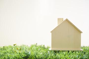 草原のお家