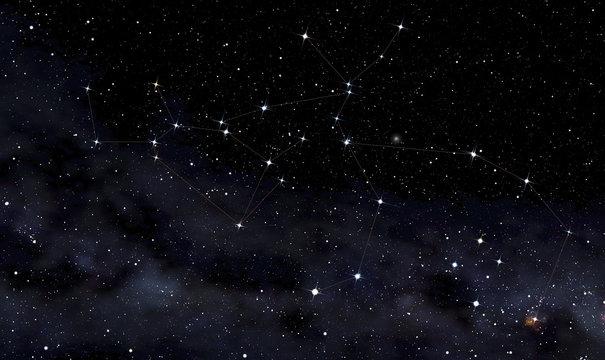 Constellations of Centaurus and Wolf