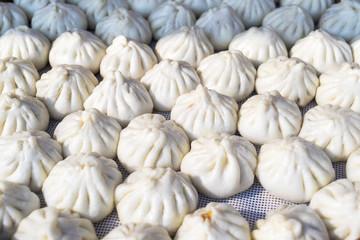 Steamed har gow Dim sum dumpling