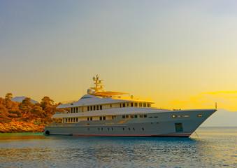 big motor yacht