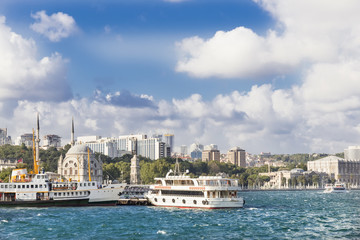 Sights of Istanbul ,a cruise on the Bosphorus