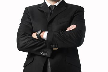 Main in suit