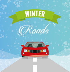 winter roads design