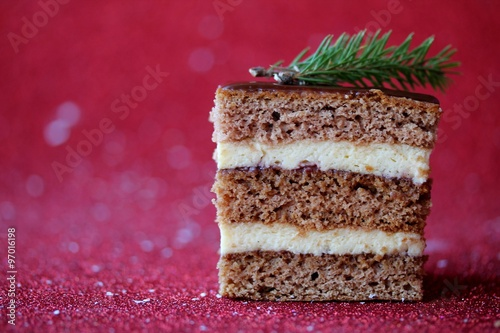 Christmas Traditional Cake Stock Photo And Royalty Free Images On