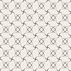 Abstract geometric seamless pattern. Black