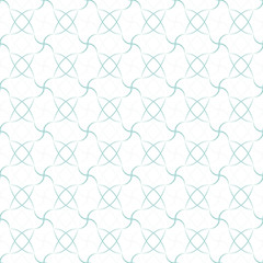Abstract geometric seamless pattern. Blue