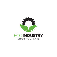 Eco-Industry Logo Template