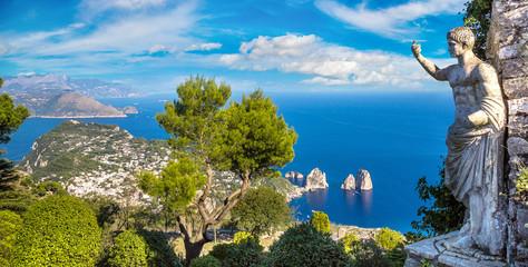 Capri island  in Italy Wall mural