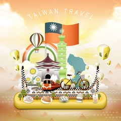 Taiwan travel elements