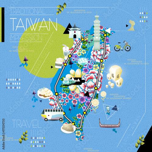Taiwan Map Pdf