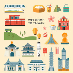 Taiwan travel concept collections