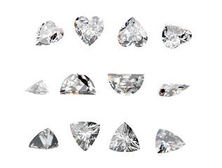 Gemstone in the tweezers
