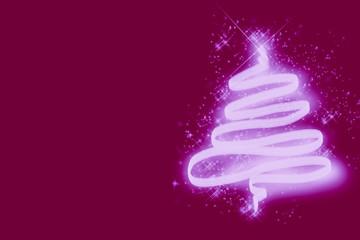 Weihnachten in Neon Glow