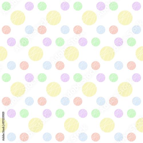 Sfondo A Fantasia Pois Colori Pastello Immagini E Fotografie