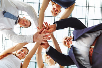 Cooperation and teamwork in business team