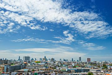 Daylight Bangkok city view, Thailand