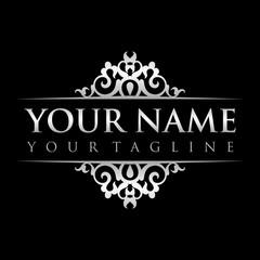 Decorative Ornament Logo Template