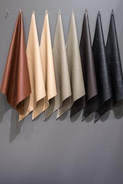 sofa leather sample