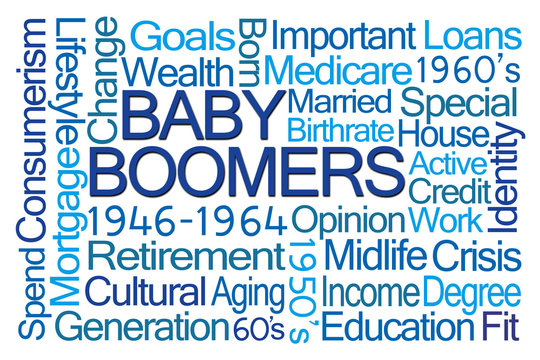 Baby Boomers Word Cloud