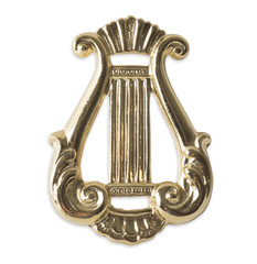 Freemason. Blue Lodge officerJewel. organist