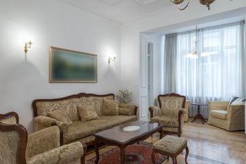 Interior of a classic living room