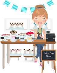 Cake Pops Seller