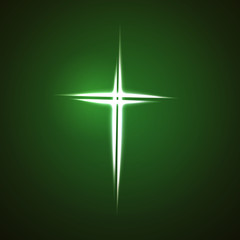 Christian cross sign