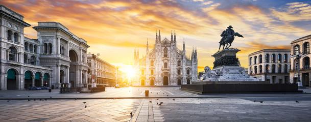 Foto auf Leinwand Milan Milano spirit