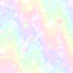 Abstract colorful bubble pattern.  Texture background.  Seamless illustration.