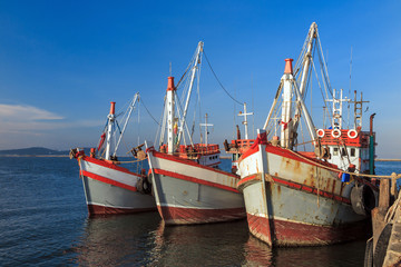 Fishing boat Thailand