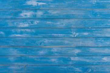 Blauer Holz Hintergrund Leer