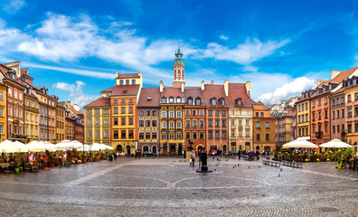 Fotomurales - Old town square in Warsaw
