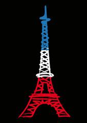 Tour Eiffel_Bleu Blanc Rouge