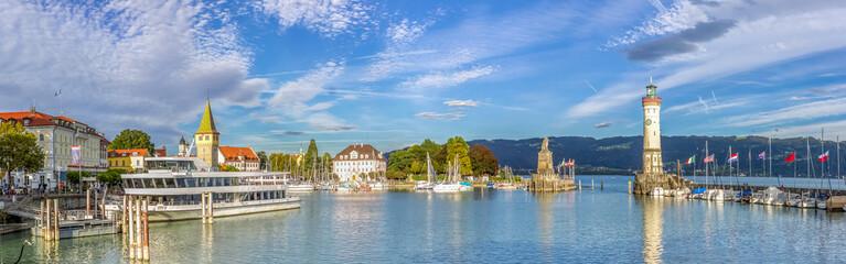 Lindau am Bodensee, Hafenpanorama